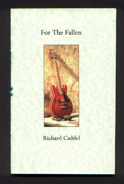 Cover of For the Fallen by Richard Caddel