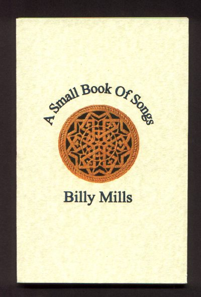 Cover of A Small Book of Songs by Billy Mills