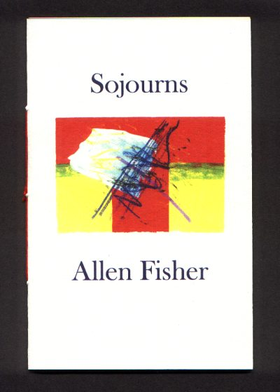 Cover of Sojourns by Allen Fisher